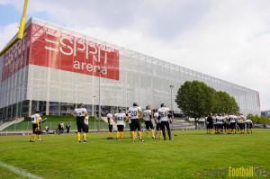 13.09.2014 - Düsseldorf Panther Prospects vs. Düsseldorf Bulldozer